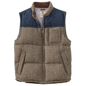 Timberland Men's Bolton Mountain Wool Vest